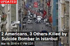 Suicide Bomber Strikes Istanbul Tourist District
