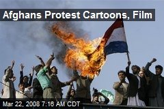 Afghans Protest Cartoons, Film