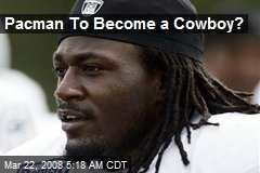 Pacman To Become a Cowboy?