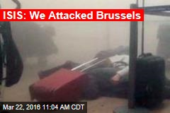 ISIS: We Attacked Brussels