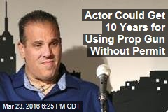 Actor Could Get 10 Years for Using Prop Gun Without Permit