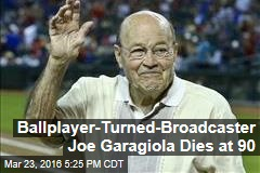 Ballplayer-Turned-Broadcaster Joe Garagiola Dies at 90