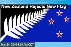 New Zealand Rejects New Flag