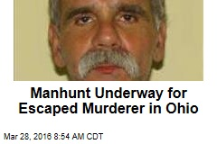 Manhunt Underway for Escaped Murderer in Ohio