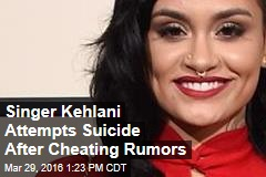 Singer Kehlani Attempts Suicide After Cheating Rumors