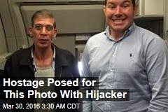 Hostage Posed for Selfie With Hijacker