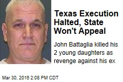 Texas Execution Halted, State Won't Appeal
