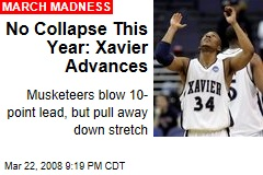 No Collapse This Year: Xavier Advances