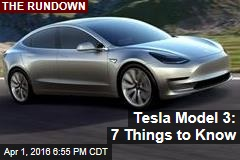 Tesla Model 3: Don't Believe the Hype?
