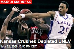 Kansas Crushes Depleted UNLV