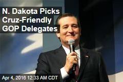 N. Dakota Picks Cruz-Friendly GOP Delegates
