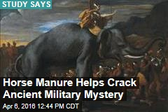 Horse Manure Helps Crack Ancient Military Mystery