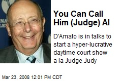 You Can Call Him (Judge) Al