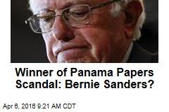 Winner of Panama Papers Scandal: Bernie Sanders?