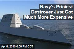 Price Tag of Navy's Expensive New Ships Rises to $4.25B Each