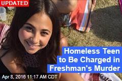 Teen Arrested in Freshman's Campus Murder