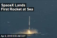 SpaceX Lands First Rocket at Sea