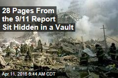 28 Pages From the 9/11 Report Sit Hidden in a Vault