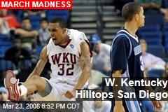 W. Kentucky Hilltops San Diego