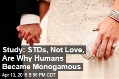 Study: STDs, Not Love, Are Why Humans Became Monogamous