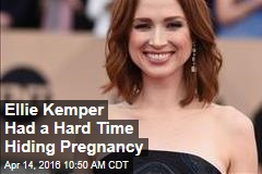 Ellie Kemper Had a Hard Time Hiding Pregnancy