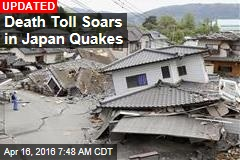 Toll Hits 32 in Japan Quakes