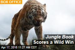 Jungle Book Scores a Wild Win