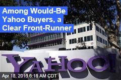 Verizon Poised to Snap Up Yahoo