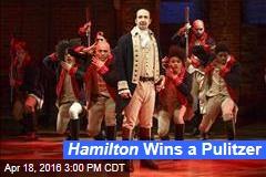 Hamilton Wins a Pulitzer