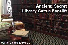Ancient, Secret Library Gets a Facelift