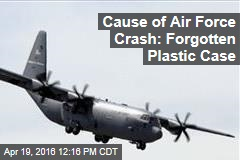 A Plastic Case, Not the Taliban, Brought Down USAF Plane