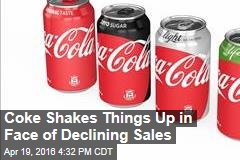 Coke Shakes Things Up in Face of Declining Sales