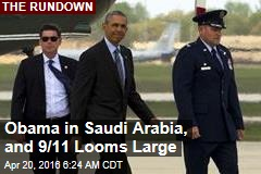 Obama in Saudi Arabia, as 9/11 Looms Large Again