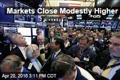 Markets Close Modestly Higher