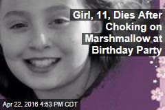 Girl, 11, Dies After Choking on Marshmallow at Birthday Party