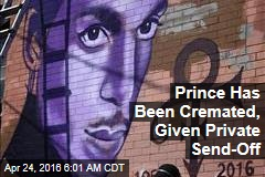 Prince Has Been Cremated, Given Private Send-Off
