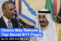 Obama May Release Top-Secret 9/11 Pages