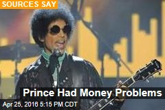 Prince Had Money Problems