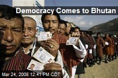 Democracy Comes to Bhutan
