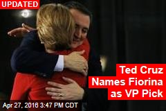 Ted Cruz Naming Fiorina as VP Pick: Sources