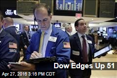 Dow Edges Up 51