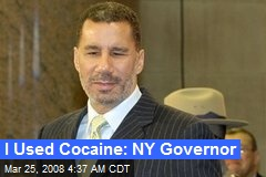 I Used Cocaine: NY Governor