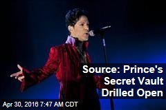 Source: Prince's Secret Vault Drilled Open