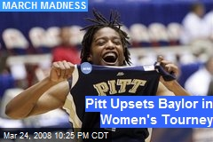 Pitt Upsets Baylor in Women's Tourney