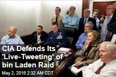 CIA 'Live Tweets' Bin Laden Raid, 5 Years On