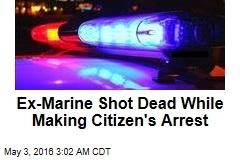 Armed Man Shot Dead Making Citizen's Arrest