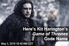 Here's Kit Harington's Game of Thrones Code Name