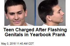 Kid Charged After Flashing Genitals in Yearbook Prank