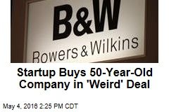 Startup Buys 50-Year-Old Company in 'Weird' Deal