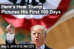 Here's How Trump Pictures His First 100 Days